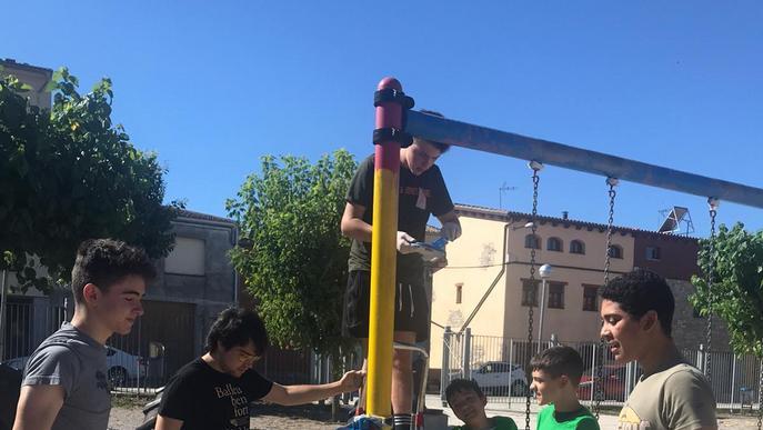 Més de 100 joves han començat els camps de treball local als municipis de la comarca