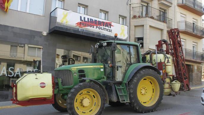 Asaja Lleida posa a disposició dels organismes públics màquines atomitzadores per desinfectar carrers i edificis