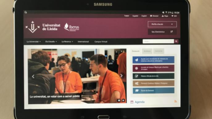 La UdL cedeix ordinadors i tauletes a estudiants per seguir la docència virtual