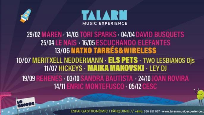 El Talarn Music Experience escalfa motors i posa a la venda entrades