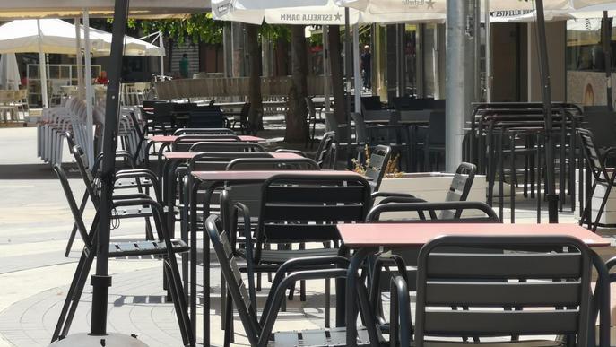 El TSJC rebutja el recurs de l'hostaleria de Lleida contra el tancament interior de bars i restaurants