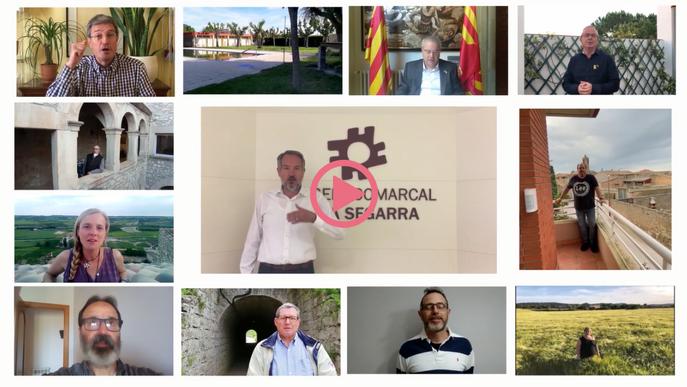 La Segarra elabora un vídeo d'ànims a la població en la darrera fase de confinament