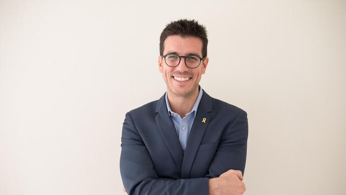 """Toni Postius: """"Necessitem un canvi de model i reivindicar el paper de Lleida vers la situació que viu el país"""""""