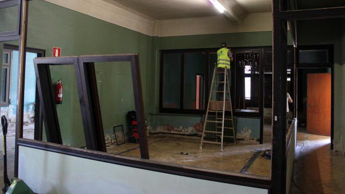 Comencen les obres de rehabilitació de l'antic edifici comercial de Tàrrega
