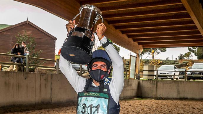 Albert Hermoso guanya la 5a Copa del Rei de Concurs Complet