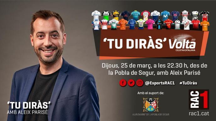 La Pobla de Segur, protagonista de l'edició número 100 de la Volta a Catalunya