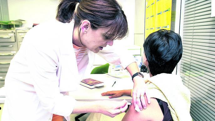 La vacunació antigripal, en marxa
