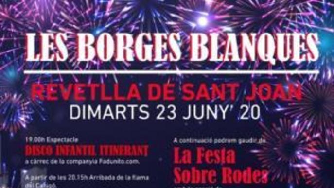 Les Borges prepara una revetlla de Sant Joan ambiciosa, tot i la Covid-19