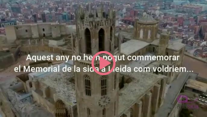 ⏯️ Memorial d'Antisida Lleida en record de les víctimes de la malaltia