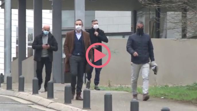 ⏯️ Policies investigats neguen l'agressió a Enric Sirvent l'1-O a Lleida