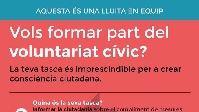 Balaguer reactiva la Xarxa de Voluntariats