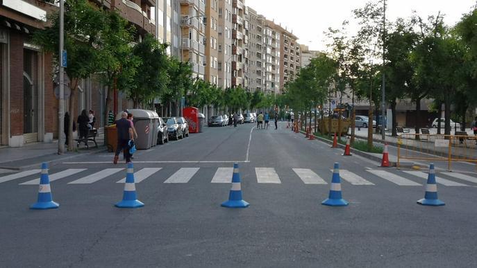 Arxiu noves zones vianants Lleida Doctor Fleming