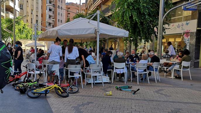 Terrassa terrasses bars cafeteries Zona Alta