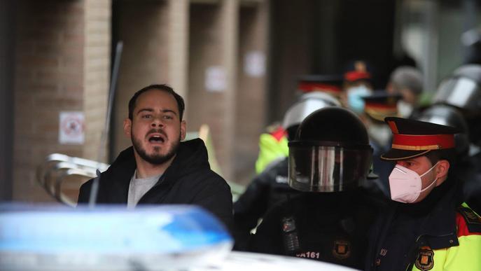 ⏯️ Detingut Pablo Hasél a la Universitat de Lleida