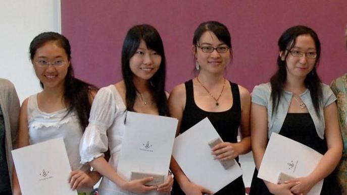 Zhao Mo, estudiant de la UdL, envia un miler de màscares quirúrgiques des de Xina