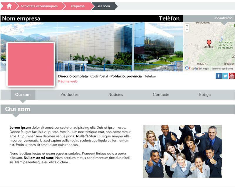 Web editable Lleida.com
