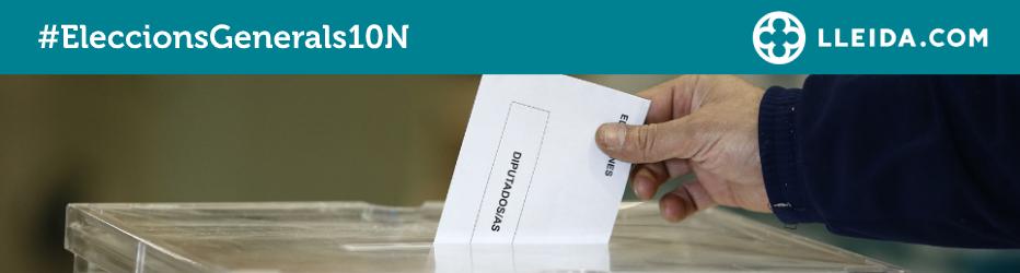Capçalera Eleccions Generals 10N