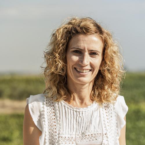 Maria José Pérez, imatge dels Cellers Vinya els Vilars