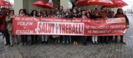 Lleida tanca el primer trimestre de l'any amb 2.000 aturats més