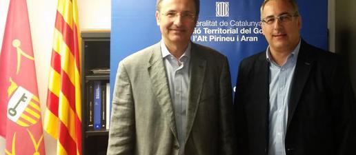 Mor Josep Palau, delegat d'Interior al Pirineu i Aran