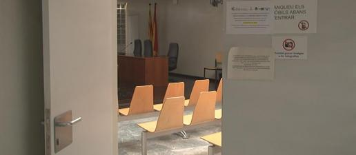 """Seguiment massiu en jutjats de Lleida de la vaga """"històrica"""" de jutges i fiscals"""