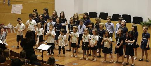 Concert de primavera de la Coral Shalom al campus Cappont