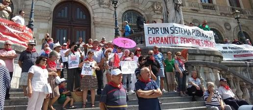 Més de la meitat dels pensionistes de Lleida cobren menys de 1.000 euros al mes