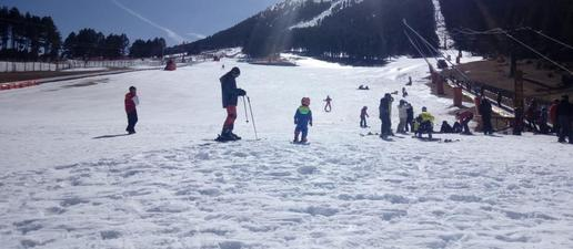La neu artificial, esperança per a les estacions d'esquí