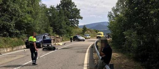 Mor un conductor i les seves dues filles resulten ferides greus en un accident a Bell-lloc