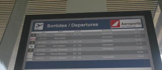 La boira anul·la sis vols a Alguaire, desviats a Reus