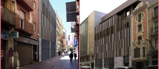L'Eix Comercial de Lleida podria sumar un nou edifici comercial de 4 plantes