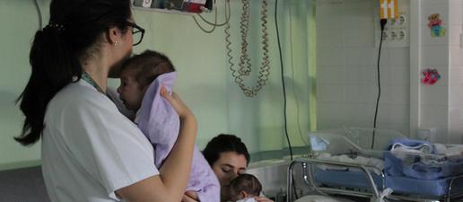 L'Hospital Arnau celebra el Dia Mundial del Nadó Prematur amb les famílies