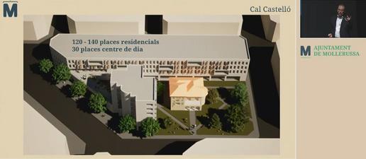 ⏯️ Mollerussa projecta una nova residència i un pas soterrat per superar la via del tren