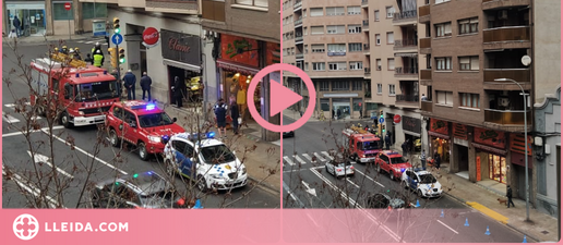 ⏯️ Una fuita de gas obliga a desallotjar un edifici de Príncep de Viana