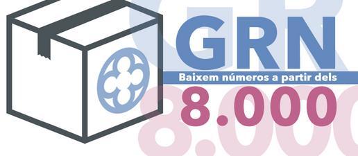 GRN: Baixem números a partir del 8.000