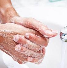 Com netejar-se les mans