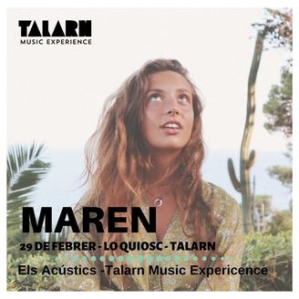 Maren - Talarn Music Experience 2020