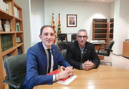 Jose Crespín comunica als alcaldes de l'A-2 l'adjudicació del projecte de millora en un tram de 15 quilòmetres