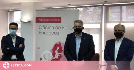 La Cambra de Lleida ajudarà a les empreses de la demarcació per accedir a fonts europeus