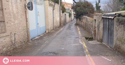 L'Ajuntament de Tàrrega treu a concurs els treballs de millora d'un carrer