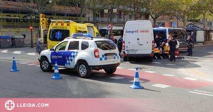 Atropellen una dona de 83 anys a la Rambla de Ferran de Lleida