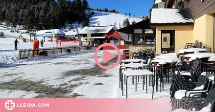 """⏯️ L'estació lleidatana que dona per """"perduda"""" la temporada d'esquí pel confinament municipal"""