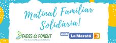 Matinal Familiar Solidària FADES de Ponent