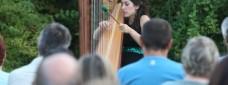 Berta Puigdemasa durant un concert / SEGRE