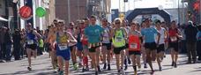 Una edició anterior de la Mitja Marató de Balaguer / SEGRE