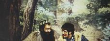 Bato i Borrego, en l'última escenificació del 1993 / X. Santesmasses - SEGRE
