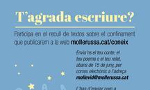Mollerussa convida a escriure sobre el confinament per editar un llibre solidari
