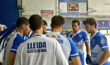 Tècnic i jugadors del Lleida Llista Blava rebutgen la reacció del club a la sentència