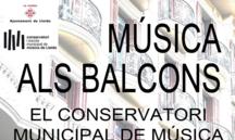 Música als balcons de Lleida